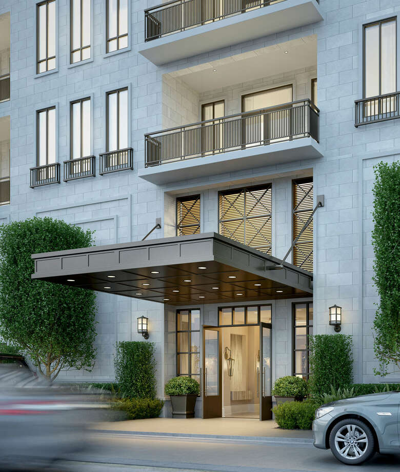 Rendering of The Revere, a proposed 32-unit luxury condominium building near River Oaks. Photo: Pelican Builders