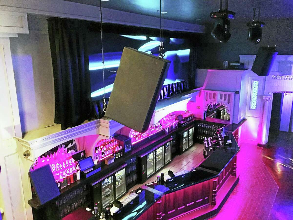 The Vanity Bar on Temple Street had a grand opening Tuesday. It features a dueling piano bar; several spaces for dining and a main room that can be used for events, as well as host a nightclub.