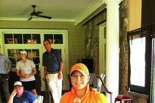 Alexis Hios of Westchester Country Club earned low amateur honors at the Lincoln Women's Met Open Championship Tuesday at Burning Tree Country Club. Becky McDaid of Friar's Head won the tournament for the second straight year.