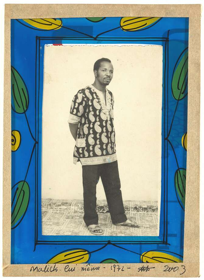"Malick Sidibé, ""Malick lui meme"" (1972) Photo: � Malick Sidib�, Jack Shainman Gallery, New York"