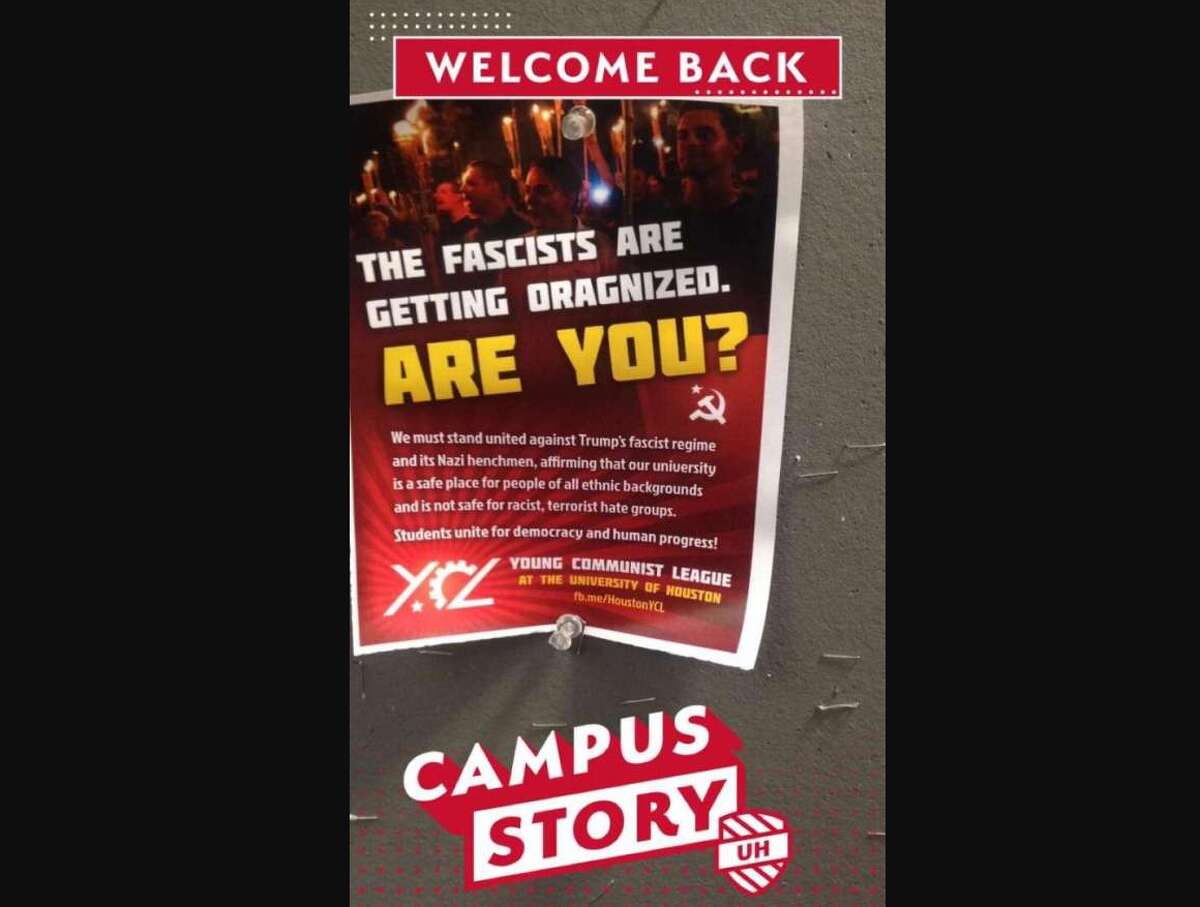 Communists take a stand against 'Nazi henchmen' Fliers on the University of Houston campus asking students to take a stand against