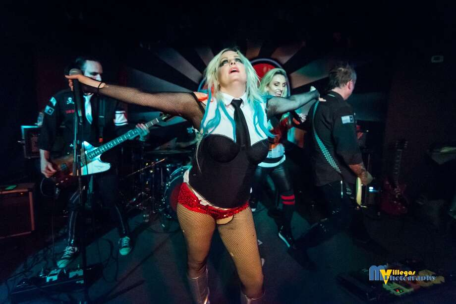 Scary Cherry, Bam Bam, NovaCraig and Ashphyxia of Scary Cherry and the Bang Bangs. Scary Cherry and the Bang Bangs will perform Friday, Aug. 25, 2017 at The Gig in Beaumont. Photo by MVillegas Photography, courtesy of Scary Cherry and the Bang Bangs