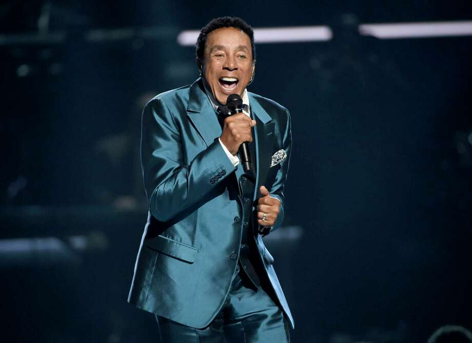 FILE - In this June 28, 2015, file photo, Smokey Robinson performs at the BET Awards in Los Angeles. Robinson has been honored by the Library of Congress with the Gershwin Prize for Popular Song. The national library announced Tuesday, July 5, 2016, that Robinson will receive the award this year.  (Photo by Chris Pizzello/Invision/AP, File) Photo: Chris Pizzello, INVL / AP