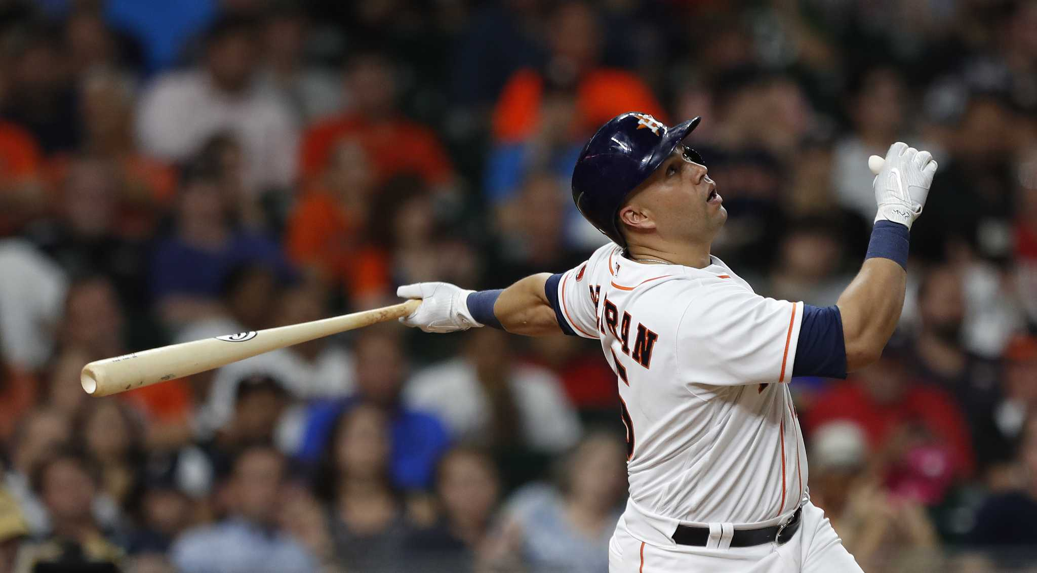 Carlos Beltran To Dh For Astros In Game 3 Houston Chronicle