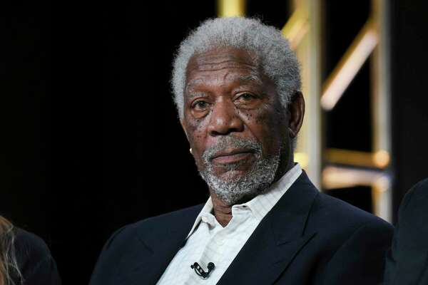 """FILE - In this Jan. 6, 2016, file photo, actor Morgan Freeman participates in the """"The Story of God"""" panel at the National Geographic Channel 2016 Winter TCA in Pasadena, Calif.  Freeman will receive the SAG Life Achievement Award at next year's Screen Actors Guild Awards ceremony. The actors union announced Tuesday, Aug. 22, 2017,  that Freeman will accept its highest honor on Jan. 21, 2018.  (Photo by Richard Shotwell/Invision/AP, File) ORG XMIT: NY115"""