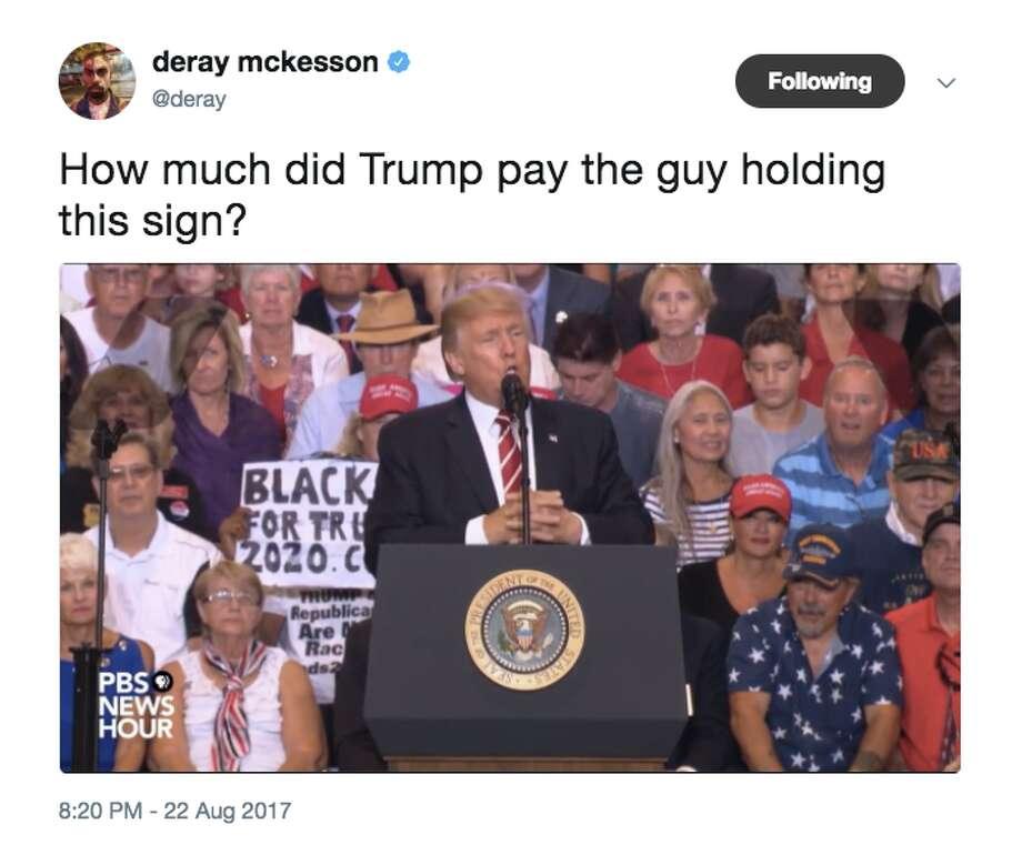 Twitter personalities and pundits react to Trump's Arizona speech Photo: Twitter
