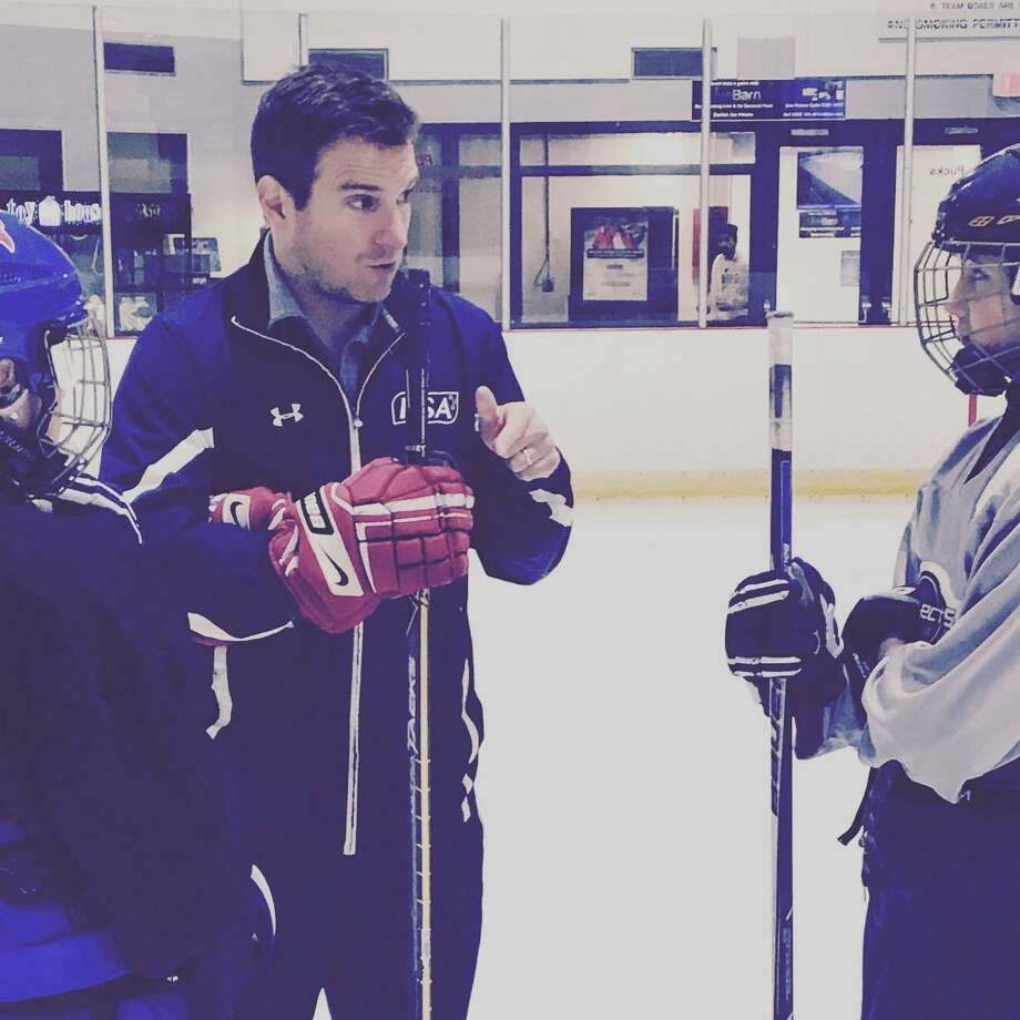 Clark Jones, the Hockey Director at the Darien Ice Rink, was named the coach of the New Canaan boys hockey team. Photo: Contributed Photo / New Canaan News contributed