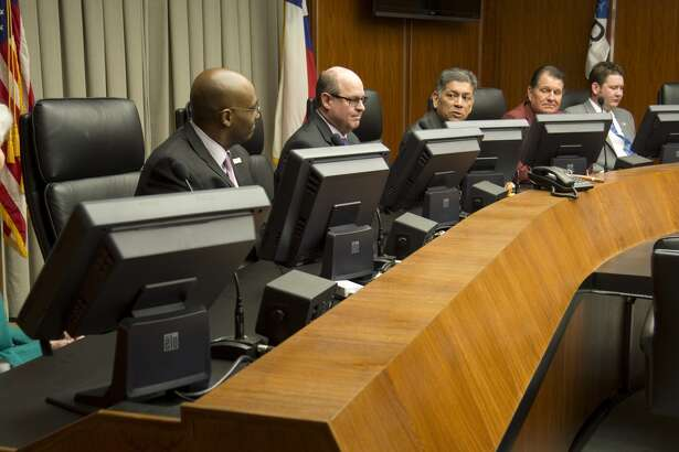 Midland City Council had two public hearings on Tuesday on the tax rate. Only two people attended.