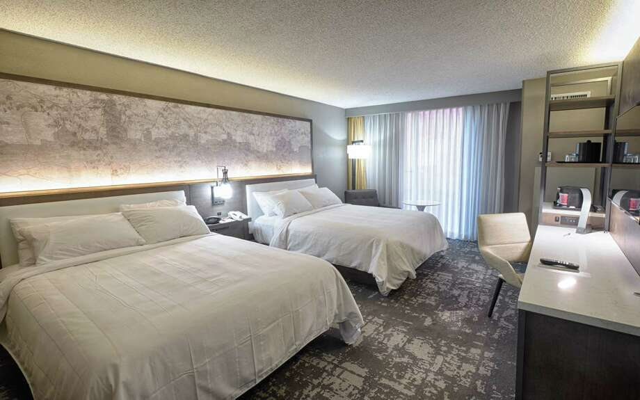 The Albany Marriott on Wolf Road in Colonie had already updated its rooms. Photo: Marriott