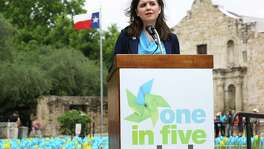 """We hold the City failed to establish as a matter of law that the evergreen clause or the CBA as a whole is void or violates public policy,"" Justice Luz Elena Chapa, seen in 2015 in San Antonio, wrote for the court."