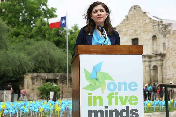 """""""We hold the City failed to establish as a matter of law that the evergreen clause or the CBA as a whole is void or violates public policy,"""" Justice Luz Elena Chapa, seen in 2015 in San Antonio, wrote for the court."""
