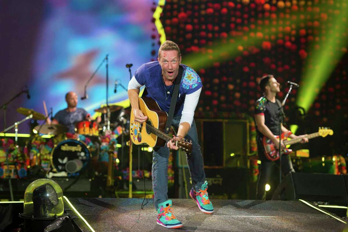 """Coldplay wrote and performed an original song called """"Houston"""" at the Hard Rock Stadium in Miami after the band had to postpone their Houston show because of Hurricane Harvey. Keep clicking to see the aftermath of Hurricane Harvey."""