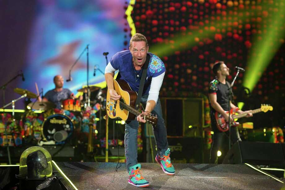 """PHOTOS: Other songs written about HoustonColdplay had to postpone their scheduled show at NRG Stadium because of Hurricane Harvey. On Monday, they performed a special song called """"Houston"""" dedicated to their fans in the city.Browse through the photos above to see other songs that were written about Houston. Photo: Scott Roth, INVL / 2017 Invision"""