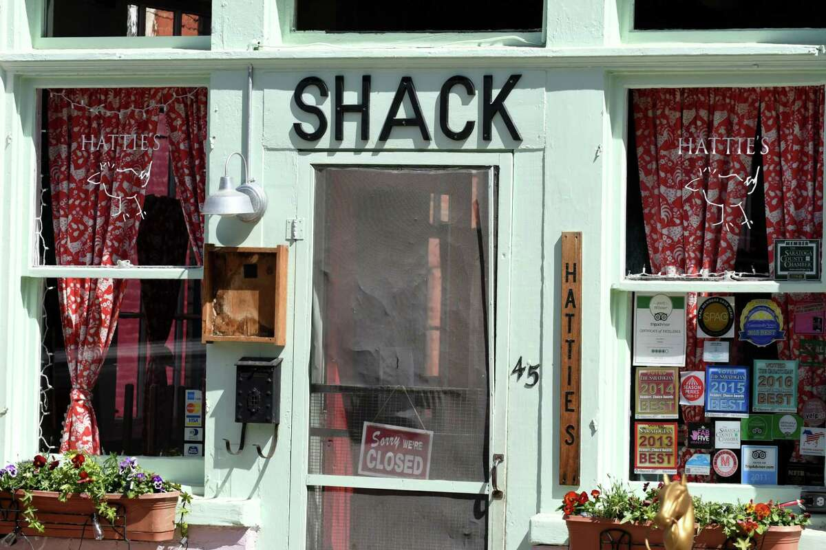 Exterior of Hattie's Chicken Shack on Thursday, May 4, 2017, on Phila St. in Saratoga Springs, N.Y. (Will Waldron/Times Union)