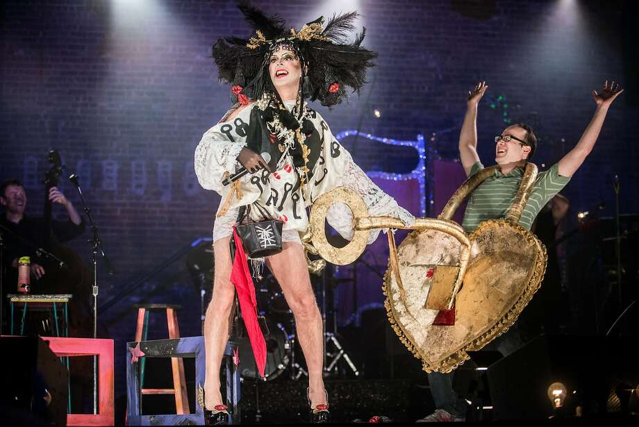 """Taylor Mac says of dragging audience members from their seats to perform in his new stage show: """"I'm not a cruel queen. That's not my shtick."""" Photo: Teddy Wolff, Curran"""
