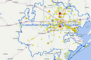 CenterPoint's Power Outage Tracker