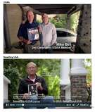 USAA is suing Maryland-based VA loan provider New Day Financial, which does business as NewDay USA, over the similarities in the two firm's advertising campaigns. USAA says NewDay USA has even copied camera angles, framing, lighting and settings in ads, such as the frame grab of the ad here, which was included in USAA's lawsuit.