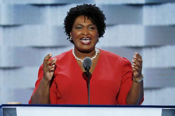 Georgia House Minority Leader Stacey Abrams is running for governor.