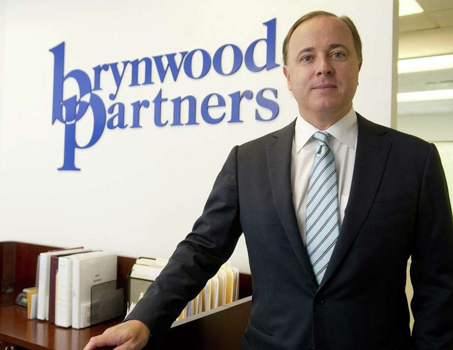Henk Hartong, Chairman and Chief Executive Officer of Brynwood Partners, poses for a photo in the company's Greenwich office on Thursday, August 21, 2014. Photo: Lindsay Perry / Lindsay Perry / Stamford Advocate