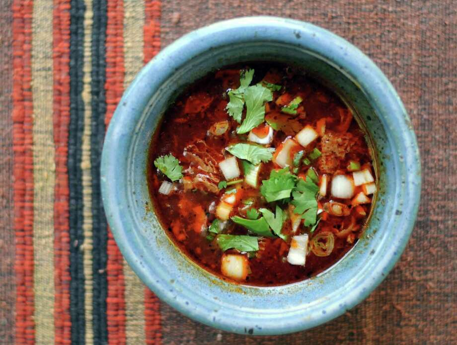Instant Pot Menudo. Photo: Paul Stephen / San Antonio Express-News