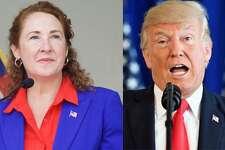 U.S. Rep. Elizabeth Esty, President Trump