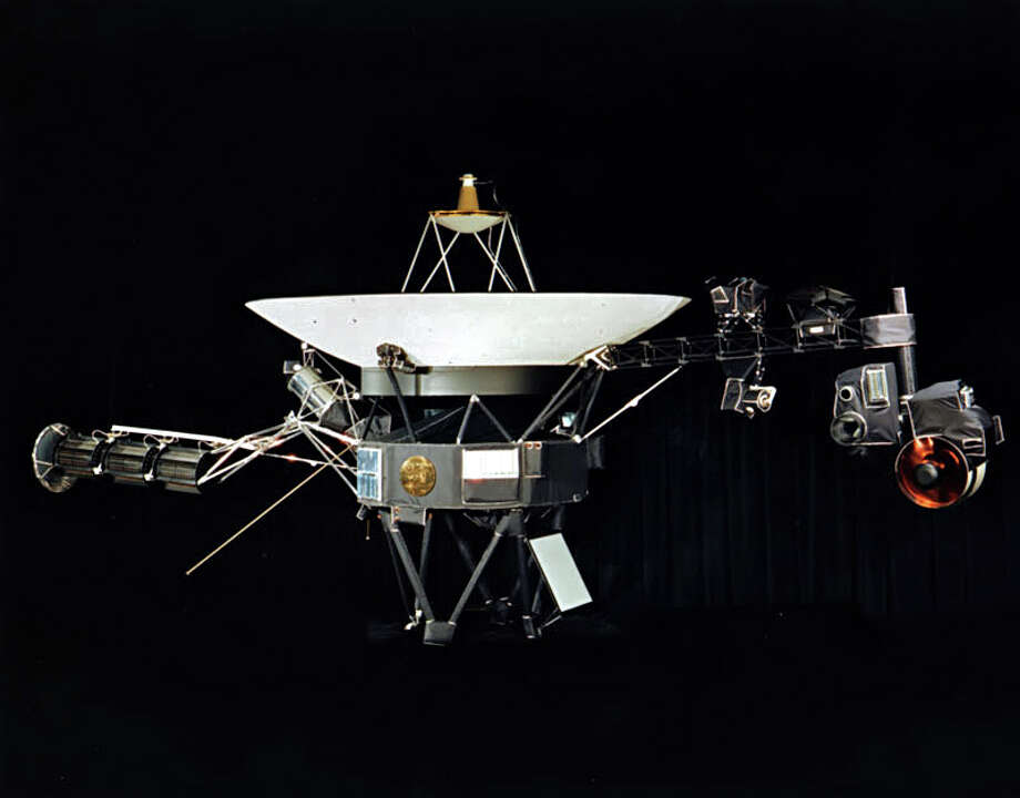 The launch of Voyager 1, which took pictures of Jupiter and Saturn before becoming the first artifact from Earth to enter interstellar space in 2012, will celebrate its 40th anniversary Sept 5. (NASA via The New York Times) / NASA