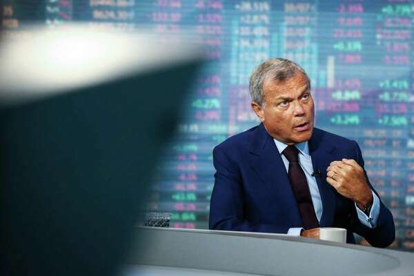Martin Sorrell of WPP says advertising companies are feeling pressured.