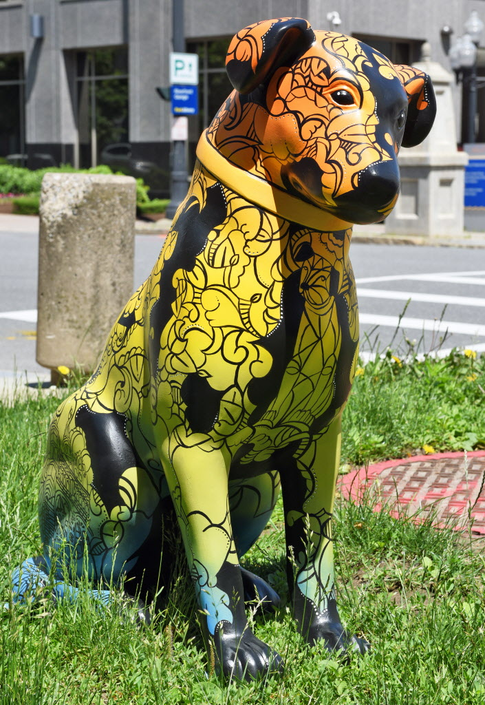 Albany's Nipper sculptures find forever homes - Times Union