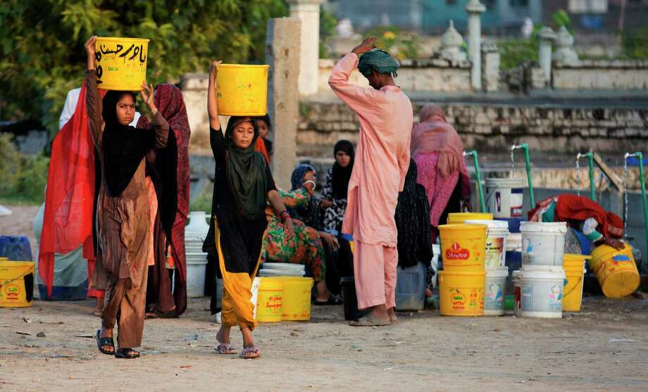 Arsenic levels in water wells are rising due to people increasingly drawing from the country's underground aquifers, a Pakistani government researcher said. Photo: B.K. Bangash, STF / Copyright 2017 The Associated Press. All rights reserved.