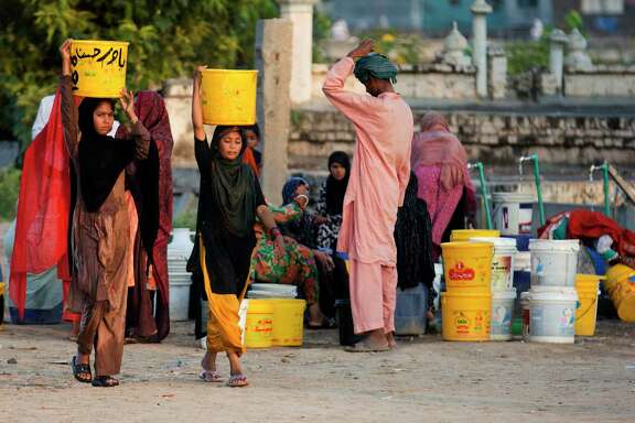 Arsenic levels in water wells are rising due to people increasingly drawing from the country's underground aquifers, a Pakistani government researcher said.