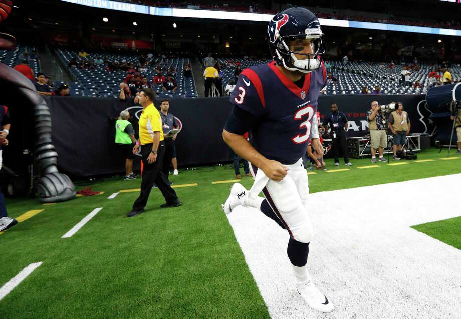 After being mostly an understudy - and often injured - for three seasons, Tom Savage gets his shot as the Texans' starting QB. Photo: Brett Coomer, Staff / © 2017 Houston Chronicle}