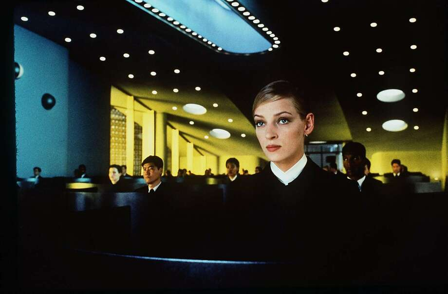 """Uma Thurman in """"Gattaca"""" (1997), which was filmed at the Marin County Civic Center. Photo: Columbia Pictures"""