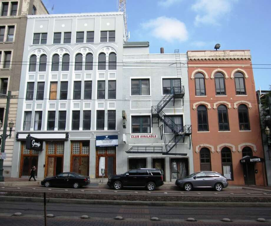 The Brewster, Rafael and Dorrance buildings at 108, 110 and 114 Main St. (Downtown Redevelopment Authority)