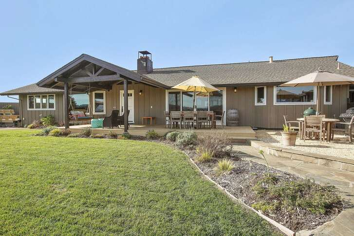 10605 Chalk Hill Road in Healdsburg is a three bedroom Wine Country home listed at $3.2 million.