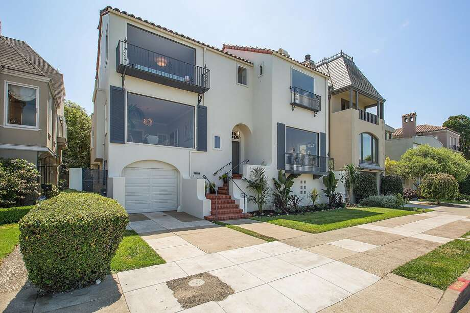 465 Marina Blvd. in the Marina District is a six bedroom home available of $8.995 million. Photo: Open Homes Photography