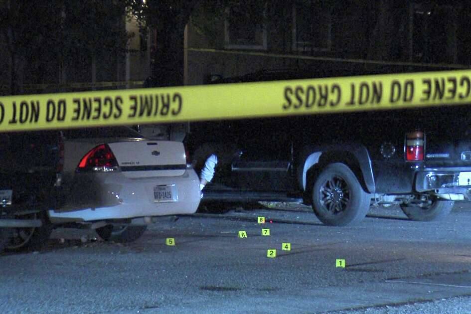 The woman was shot inside a black SUV around 2:40 a.m. in the 400 block of Tulipan Walk, according to a police lieutenant at the scene.