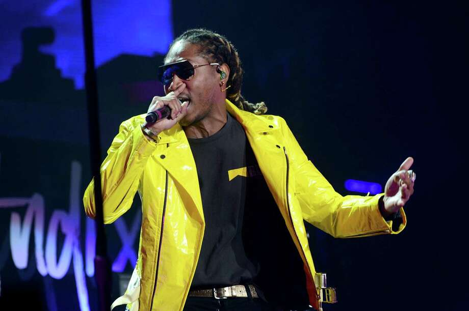 """Rapper Future performs onstage during the """"Nobody Safe"""" tour. Photo: Scott Dudelson, Getty Images / 2017 Scott Dudelson"""