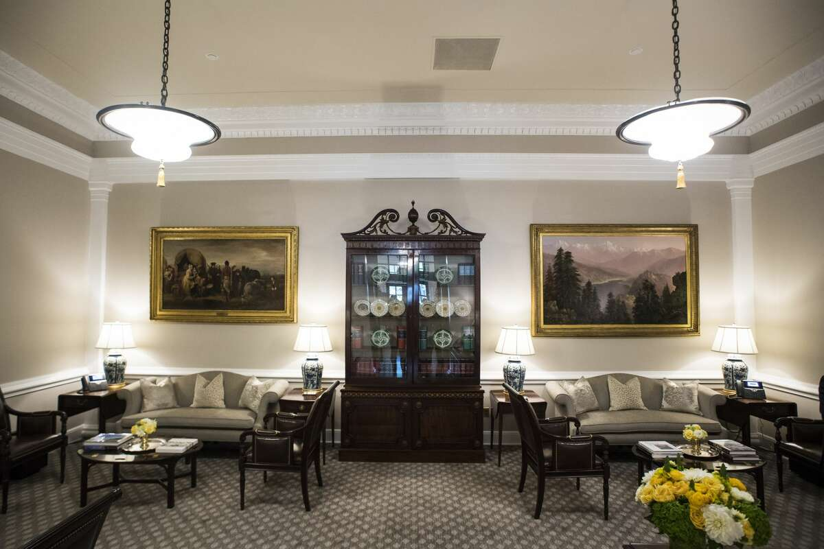 The newly renovated West Wing Lobby is seen at the White House in Washington, DC on Tuesday, Aug 22, 2017.