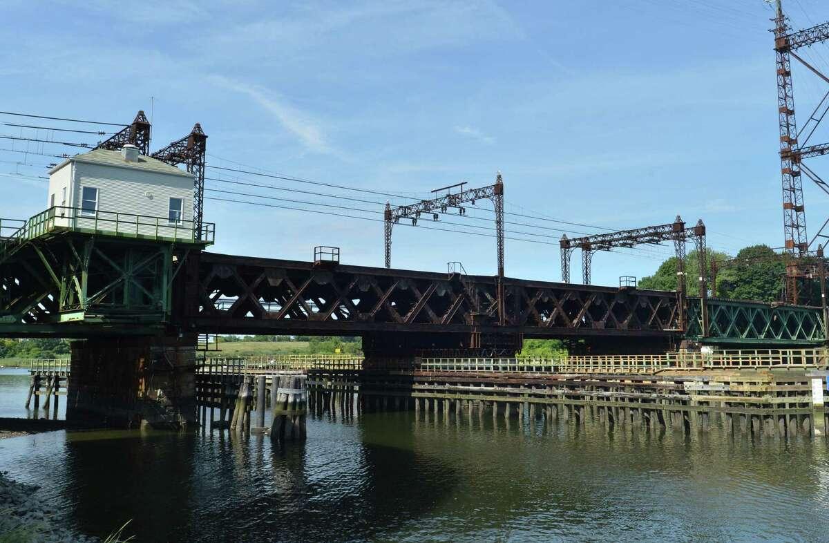 The Metro North Railroad Walk Bridge over the Norwalk river in Norwalk Conn. on Thursday August 17, 2017