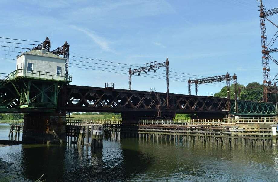 The Metro North Railroad Walk Bridge over the Norwalk river in Norwalk Conn. on Thursday August 17, 2017 Photo: Alex Von Kleydorff / Hearst Connecticut Media / Norwalk Hour