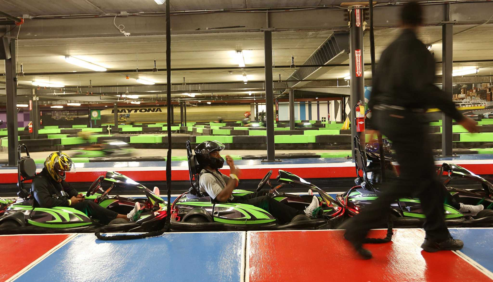 Indoor Andretti Go Cart Facility With Full Service Bar