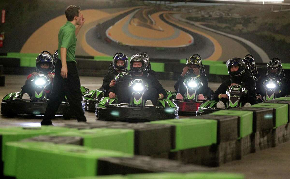 Andretti Indoor Karting and Games in San Antonio will also serve freshly-made eats and signature cocktails from the company's Andretti Grill bar-restaurant concept and a full-service bar.