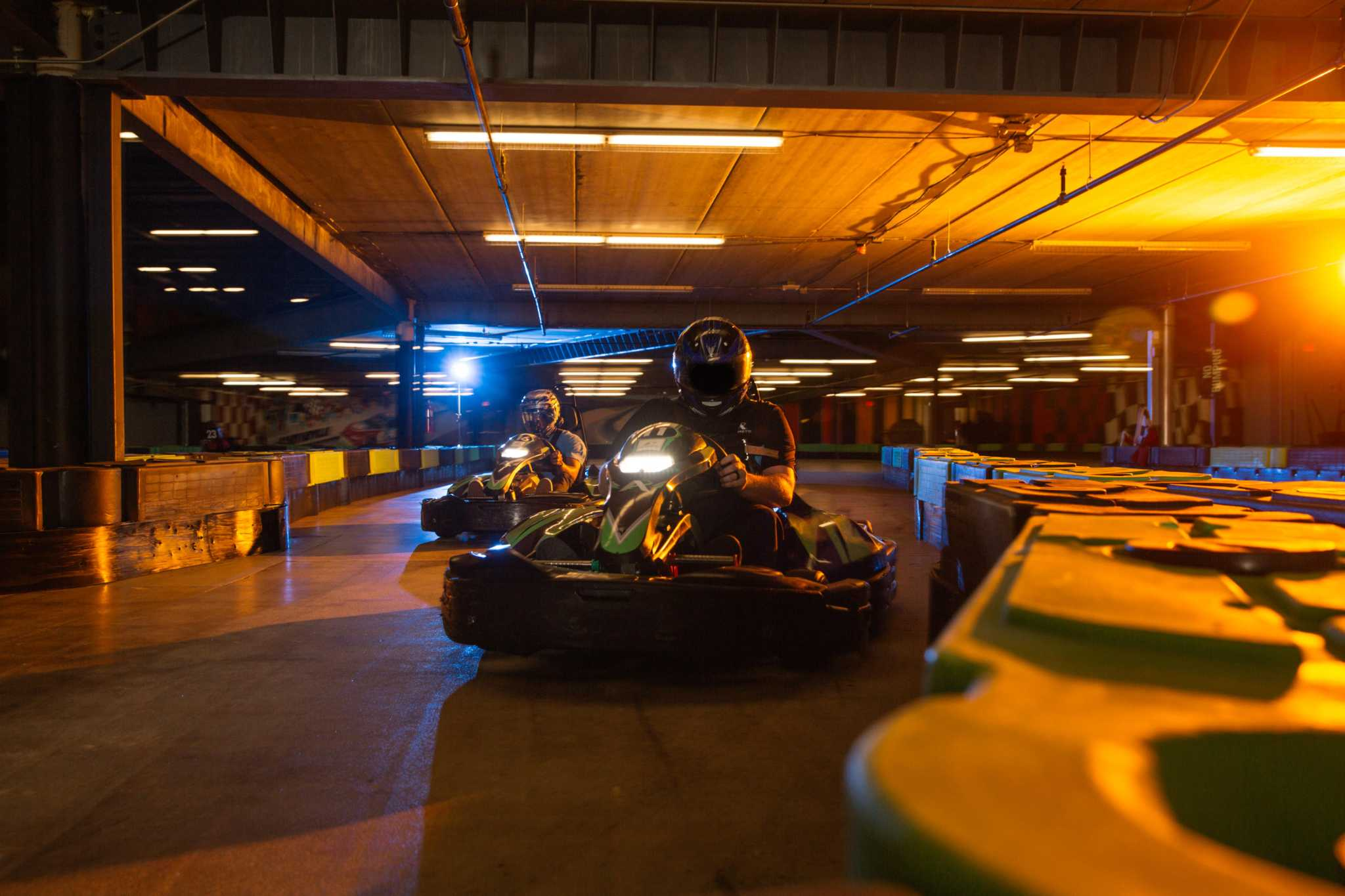 Andretti Indoor Karting and Games complex near the ...