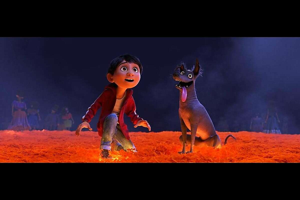 """A still from Pixar's forthcoming movie """"Coco."""""""