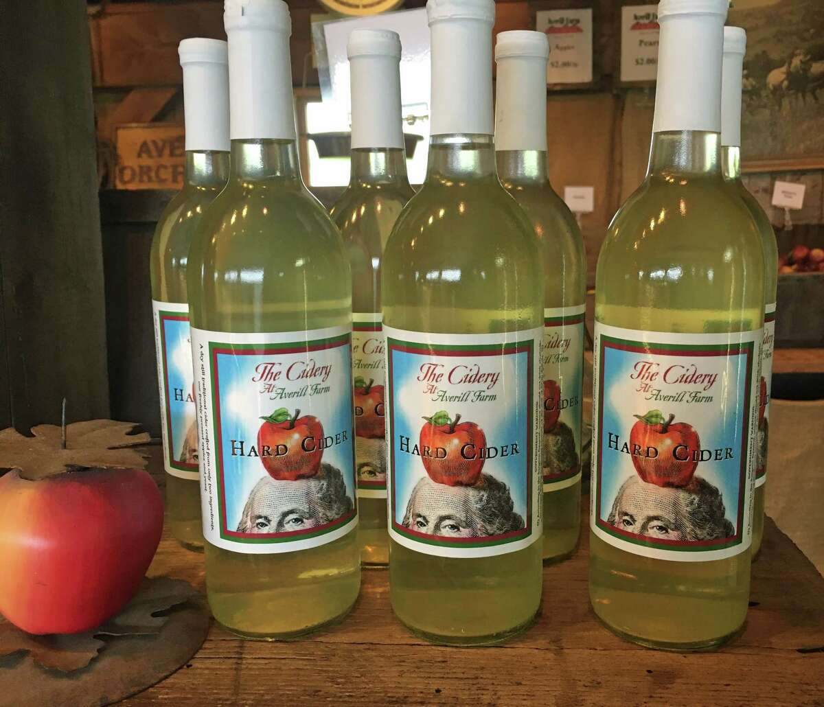 Averill Farm- Washington Depot Hard cider available for sale at the New Milford farmers' market and theWashington Depot farmers' market at the Judy Black Park on Saturdays, as well as theSouthbury farmers' market on Thursdays and the New Milford Town Green on Saturdays.
