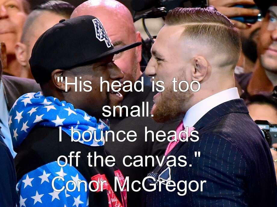 Conor Mcgregor Trash Talk Quotes: Conor McGregor, Floyd Mayweather's Best Trash Talking