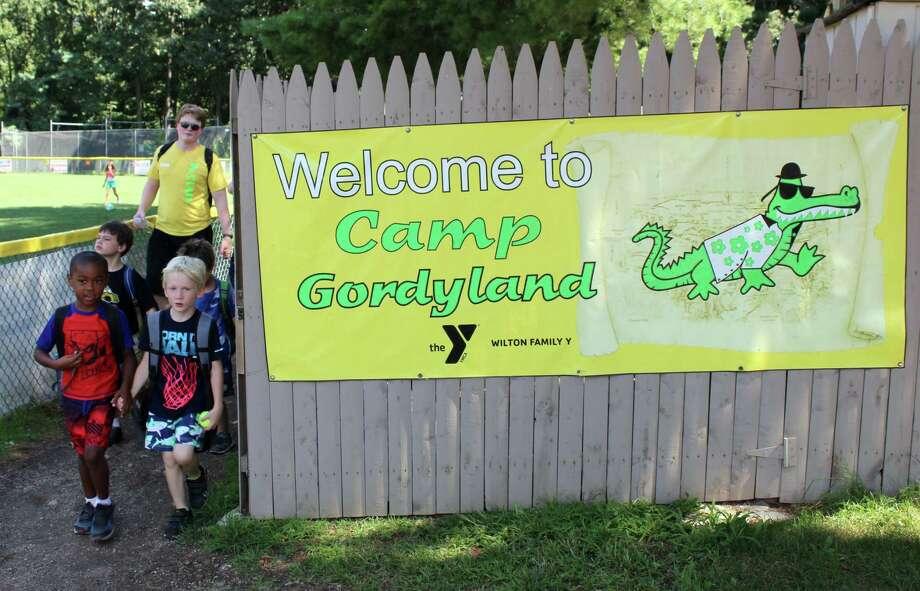 Camp Gordyland at the Wilton YMCA on Wednesday, Aug. 23, 2017. Photo: Stephanie Kim / Hearst Connecticut Media