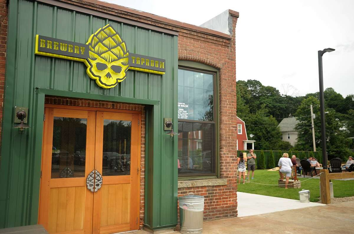 The Bad Sons Brewery at 251 Roosevelt Drive in Derby. The brewery, which opened for business on July 19, is open from Wednesday to Sunday.