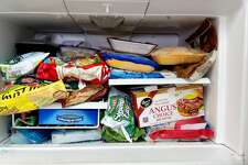 Packed freezer USDA TIP: Have coolers on hand to keep refrigerator food cold if the power will be out for more than four hours.