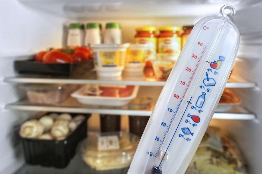 Keep a thermometer handyUSDA TIP: Keep appliance thermometers in both the refrigerator and the freezer to ensure temperatures remain food safe during a power outage. Safe temperatures are 40°F or lower in the refrigerator, 0°F or lower in the freezer. Photo: Arterra/UIG Via Getty Images